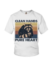 Clean Hands Pure Heart Youth T-Shirt thumbnail