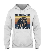 Clean Hands Pure Heart Hooded Sweatshirt thumbnail