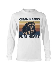 Clean Hands Pure Heart Long Sleeve Tee thumbnail