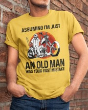 Assuming I'm Just An Old Man Classic T-Shirt apparel-classic-tshirt-lifestyle-26