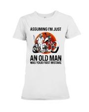 Assuming I'm Just An Old Man Premium Fit Ladies Tee thumbnail