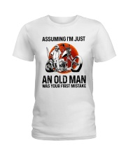 Assuming I'm Just An Old Man Ladies T-Shirt thumbnail