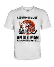 Assuming I'm Just An Old Man V-Neck T-Shirt thumbnail