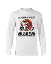 Assuming I'm Just An Old Man Long Sleeve Tee thumbnail
