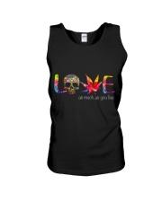 Love As Much as Unisex Tank thumbnail