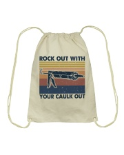 Rock Out With Your Caulk Out Drawstring Bag thumbnail