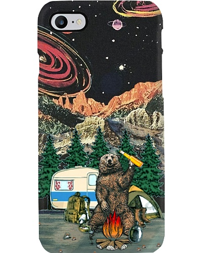 Bear With Beer Camping