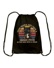Some People Need A High Five Drawstring Bag thumbnail