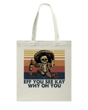 Eff You See Key Tote Bag thumbnail