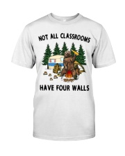 Not All Classrooms Have Four Walls Classic T-Shirt thumbnail