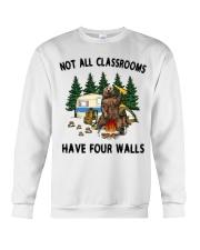 Not All Classrooms Have Four Walls Crewneck Sweatshirt thumbnail
