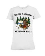 Not All Classrooms Have Four Walls Premium Fit Ladies Tee thumbnail
