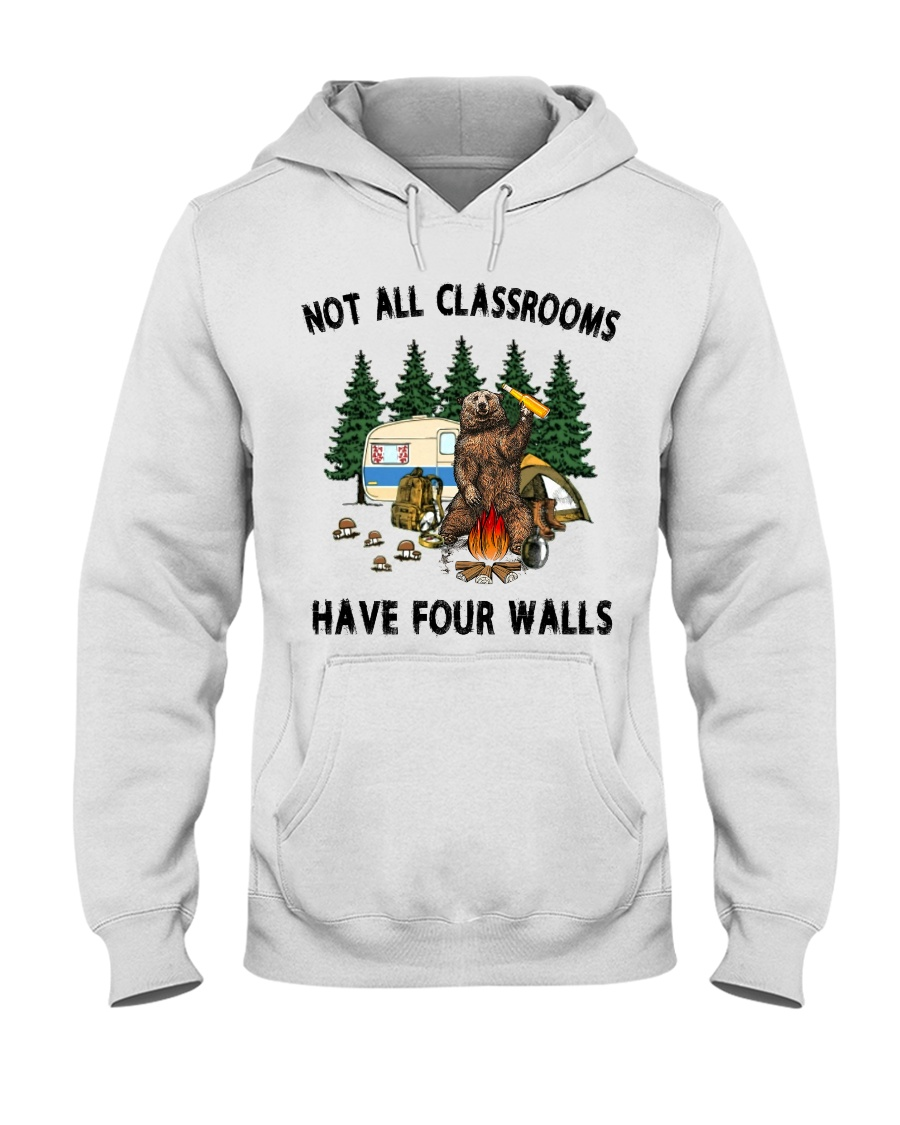 Not All Classrooms Have Four Walls Hooded Sweatshirt
