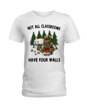 Not All Classrooms Have Four Walls Ladies T-Shirt thumbnail