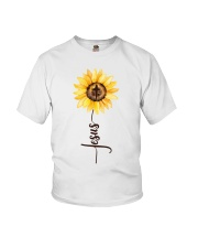 Jesus Sunflower Youth T-Shirt thumbnail