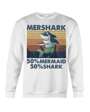 Mershark Funny Shirt Crewneck Sweatshirt thumbnail