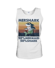 Mershark Funny Shirt Unisex Tank thumbnail