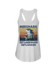 Mershark Funny Shirt Ladies Flowy Tank thumbnail