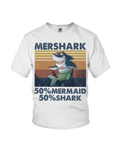 Mershark Funny Shirt Youth T-Shirt thumbnail