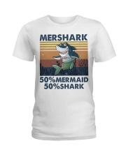 Mershark Funny Shirt Ladies T-Shirt thumbnail
