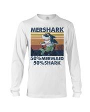 Mershark Funny Shirt Long Sleeve Tee thumbnail