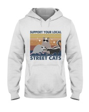 Support Your Local Hooded Sweatshirt front