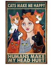 Cats Make Me Happy 11x17 Poster front