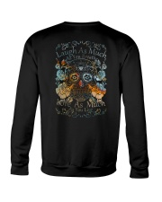 Laugh As Much Crewneck Sweatshirt thumbnail