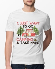 I Just Want To Go Camping Classic T-Shirt lifestyle-mens-crewneck-front-13