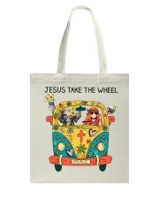 Jesus Take The Wheel Tote Bag thumbnail