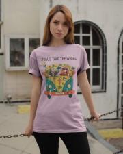 Jesus Take The Wheel Classic T-Shirt apparel-classic-tshirt-lifestyle-19