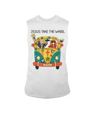 Jesus Take The Wheel Sleeveless Tee thumbnail