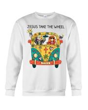 Jesus Take The Wheel Crewneck Sweatshirt thumbnail
