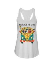Jesus Take The Wheel Ladies Flowy Tank thumbnail