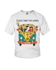 Jesus Take The Wheel Youth T-Shirt thumbnail