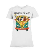 Jesus Take The Wheel Premium Fit Ladies Tee thumbnail