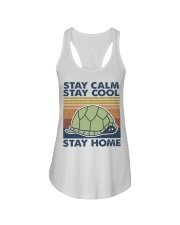 Stay Calm Stay Cool Ladies Flowy Tank thumbnail