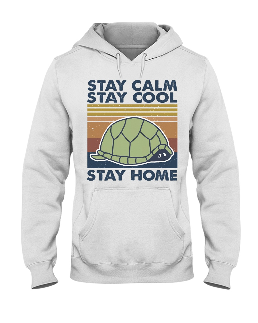 Stay Calm Stay Cool Hooded Sweatshirt