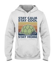 Stay Calm Stay Cool Hooded Sweatshirt front