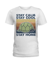 Stay Calm Stay Cool Ladies T-Shirt thumbnail
