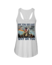 Eff You See Kay Ladies Flowy Tank thumbnail