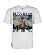 Eff You See Kay V-Neck T-Shirt thumbnail