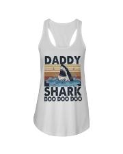Daddy Shark Ladies Flowy Tank thumbnail