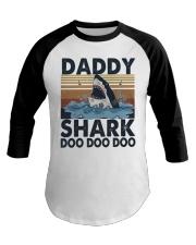 Daddy Shark Baseball Tee thumbnail