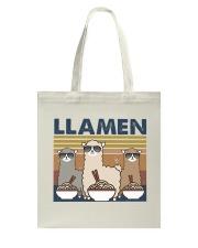 LLamen Tote Bag thumbnail