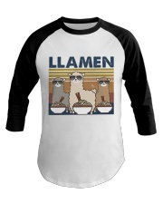LLamen Baseball Tee thumbnail