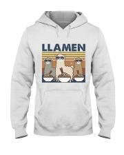 LLamen Hooded Sweatshirt front