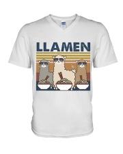 LLamen V-Neck T-Shirt thumbnail