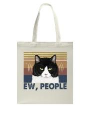 Ew People Funny Cat Tote Bag thumbnail
