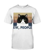Ew People Funny Cat Classic T-Shirt thumbnail